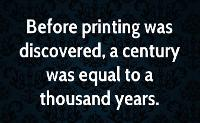 henry david thoreau author quote before printing was discovered